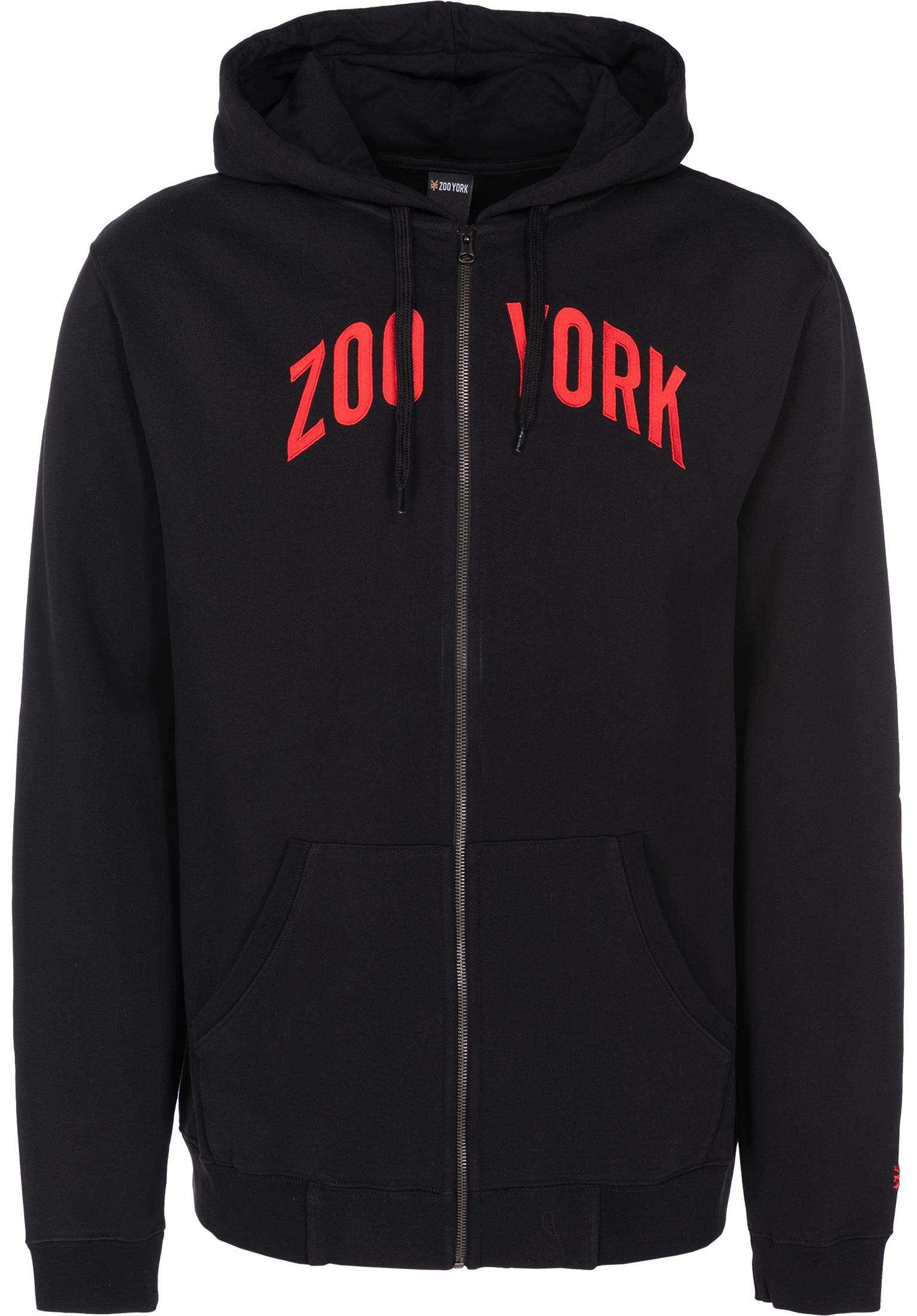 Zoo Zip Zoo York Zip Hoo s in black für Herren