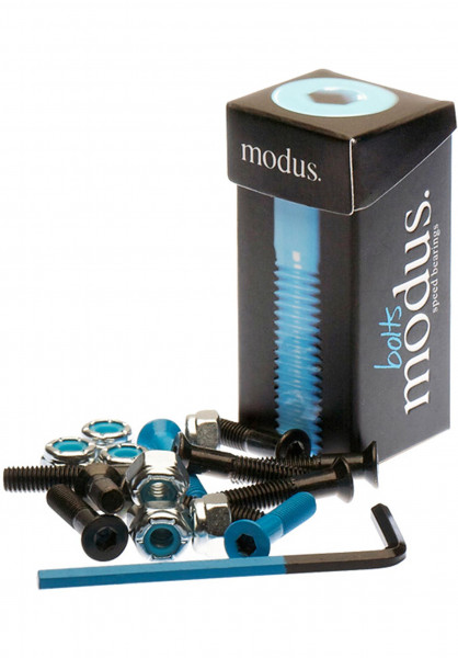 """Modus Montagesätze 7/8"""" Inbus black-blue Vorderansicht"""