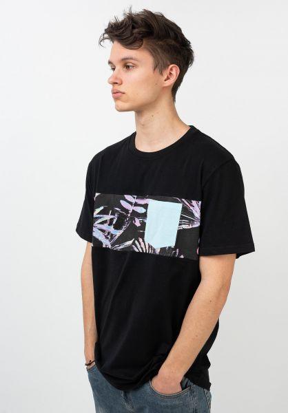 Rip Curl T-Shirts Busy Season black vorderansicht 0321543