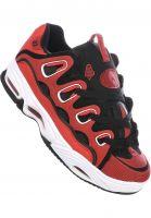 Osiris Alle Schuhe D3 2001 red-white Vorderansicht