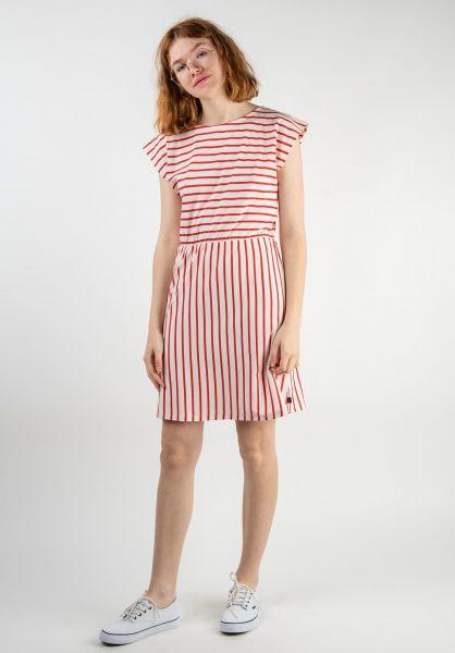 Forvert Kleider Marisol beige-red vorderansicht 0801470