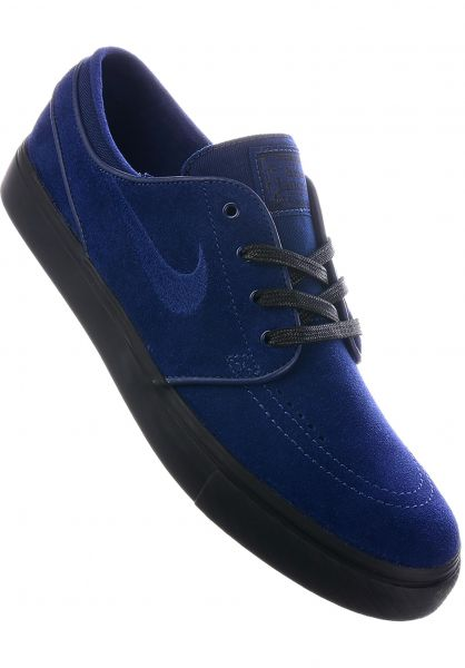 separation shoes 91e7b 464a7 ... best nike sb alle schuhe zoom stefan janoski blue bluevoid black  vorderansicht f1d35 f136a
