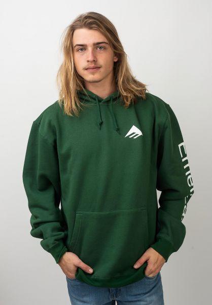 Emerica Hoodies Classic Combo green vorderansicht 0445551