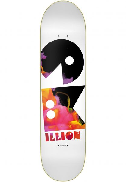 EMillion Skateboard Decks Pac orange vorderansicht 0262536