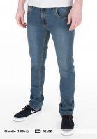 TITUS Jeans Tube Fit blue Vorderansicht