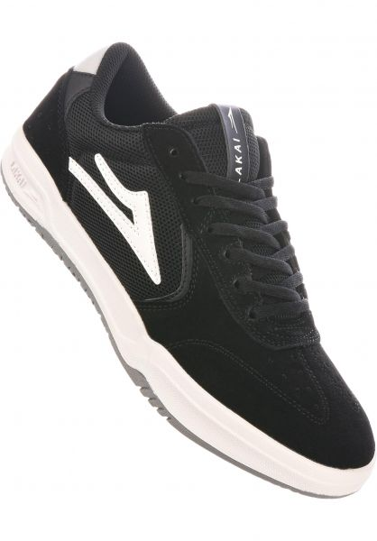 Lakai Alle Schuhe Atlantic black-lightgrey vorderansicht 0604698