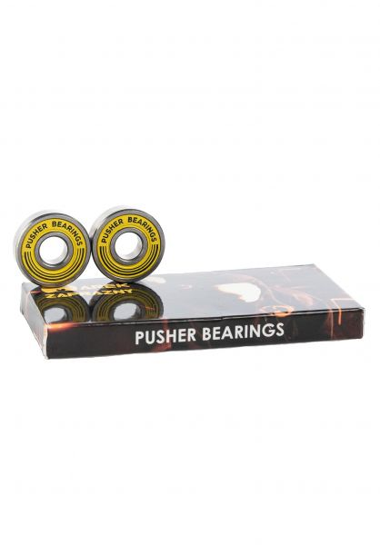 Pusher Bearings Kugellager Zaprazny Pro yellow vorderansicht 0180365