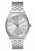 Nixon-Huete-The-Time-Teller-all-silver-Vorderansicht