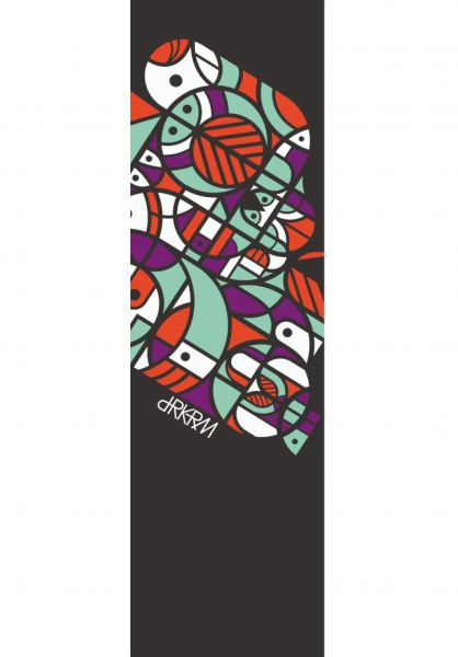Darkroom Griptape Forest black-multicolored vorderansicht 0142447