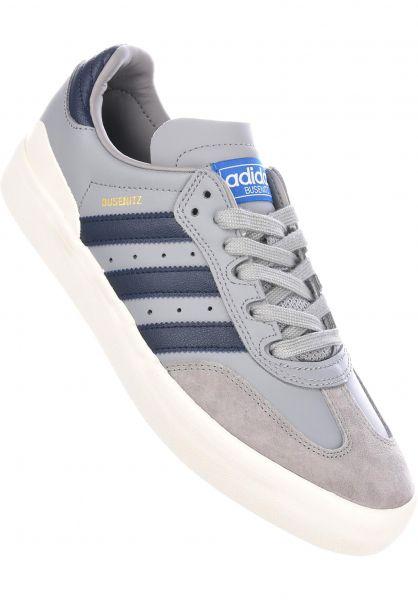 adidas-skateboarding Alle Schuhe Busenitz Vulc Samba Edition  onix-navy-bluebird Vorderansicht 47c3e6c8e