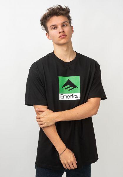 Emerica T-Shirts Classic Combo black vorderansicht 0320681