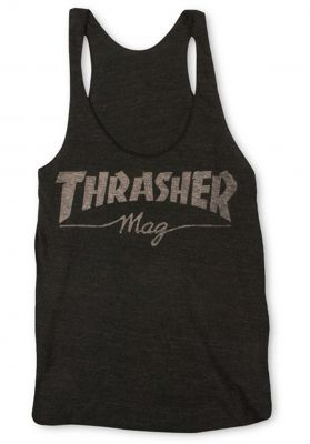 Thrasher Mag Logo Racerback Girls