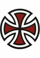 Independent Verschiedenes Cut Cross Decal red Vorderansicht