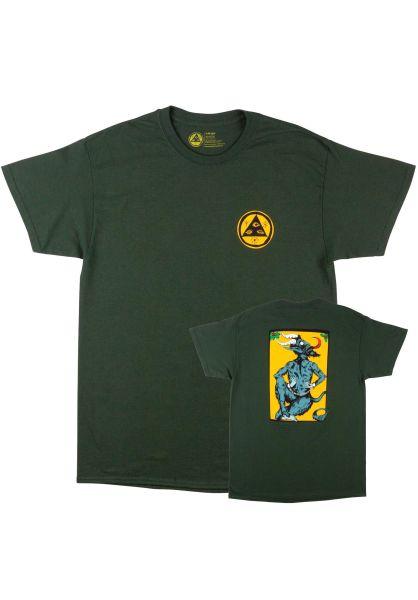 Welcome T-Shirts Krampus forest vorderansicht 0393451