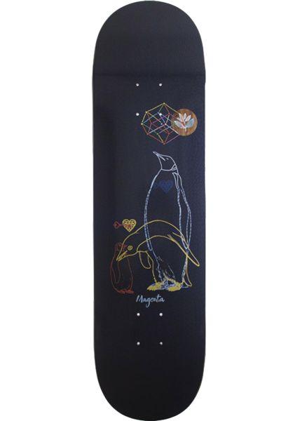 Magenta Skateboard Decks Innerchild Glasses multicolored vorderansicht 0262397
