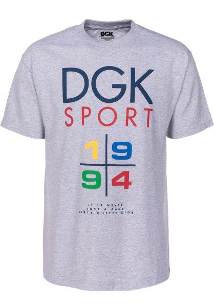 DGK T-Shirts 1994 ashheather Vorderansicht