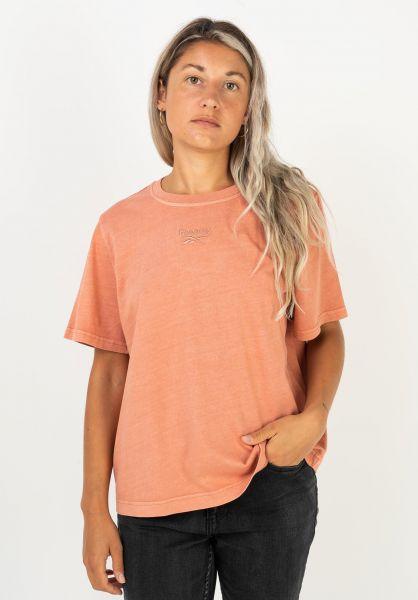 Reebok T-Shirts CL F Washed rusticclay vorderansicht 0322278