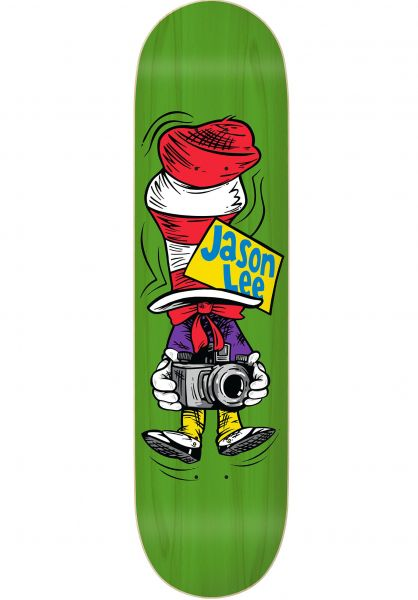 The Folklore Project Skateboard Decks Jason Lee Cat in the Hat natural vorderansicht 0262561