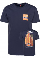Trap-T-Shirts-Monument-blue-Vorderansicht