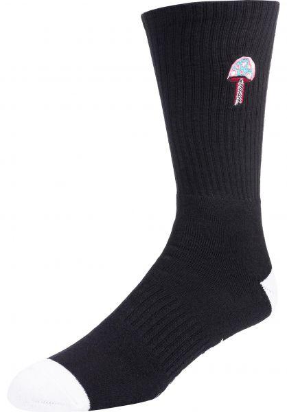 Element Socken Shrooms Socks flintblack vorderansicht 0632357