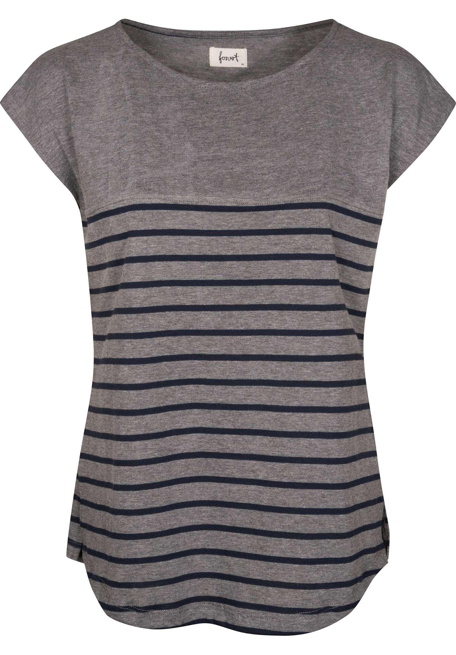 Newport Forvert Camisetas In Greymelange Navy Für Mujer Titus