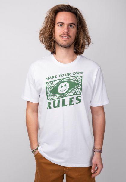 Rules T-Shirts Basco white vorderansicht 0398513