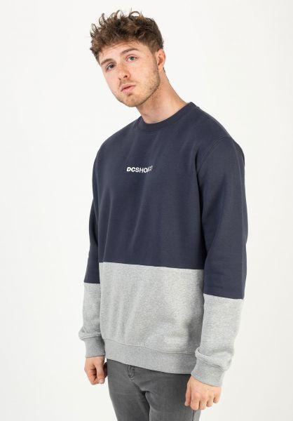 DC Shoes Sweatshirts und Pullover Downing blackiris-grey vorderansicht 0422999