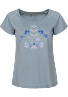 Rules-T-Shirts-Blume-blue-grey-Vorderansicht