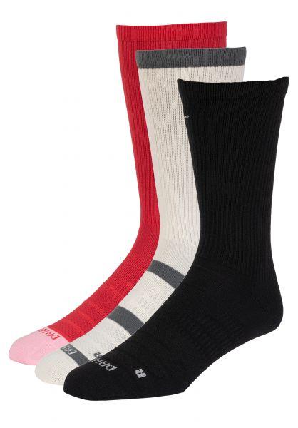 Nike SB Socken Everyday Max Lightweight 3er-Pack multicolored vorderansicht 0631988
