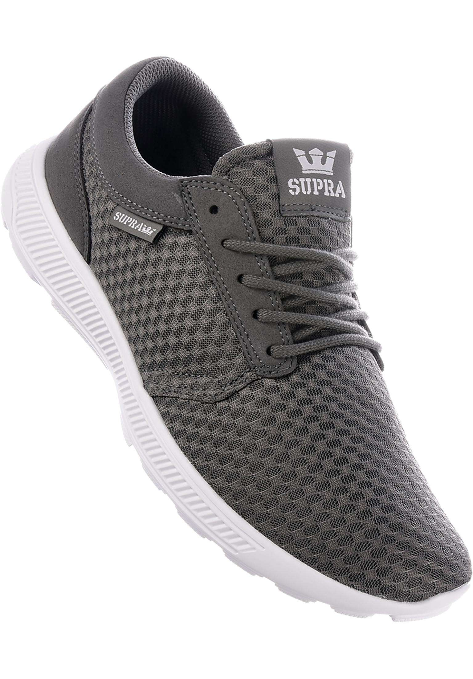 c69b76c0a4cd Hammer Run Supra All Shoes in grey-white for Men