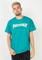 thrasher-t-shirts-godzilla-jade-vorderansicht-0320359