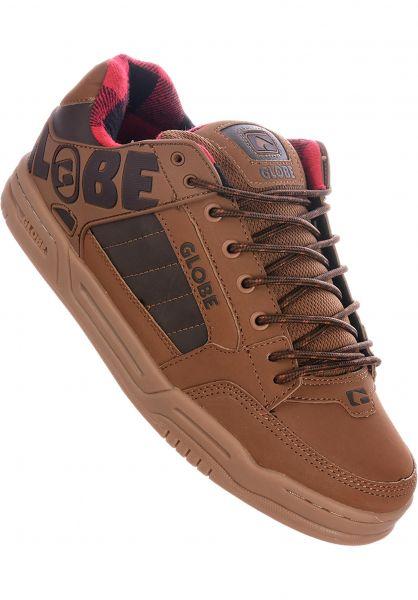 Globe Alle Schuhe Tilt brown-plaid vorderansicht 0601279