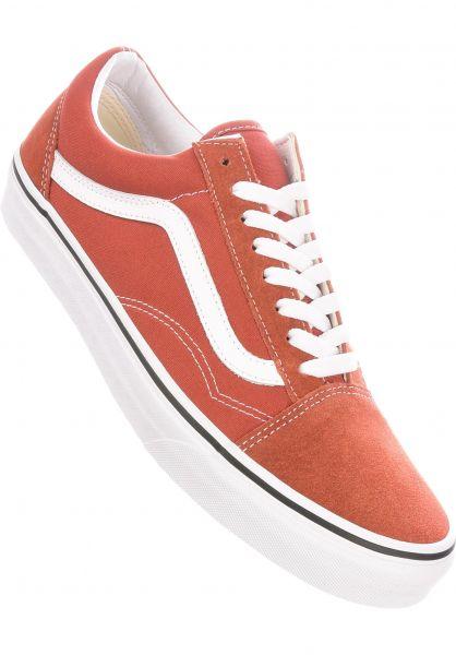 Vans Alle Schuhe Old Skool picante-truewhite vorderansicht 0601244
