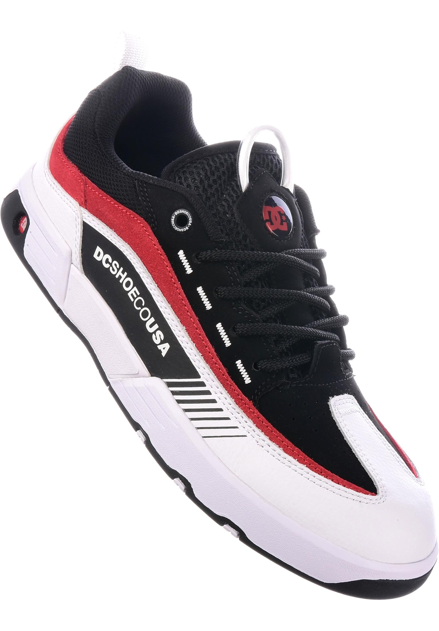 3b74c05e04 Legacy 98 Slim DC Shoes All Shoes in black-white-red for Men | Titus