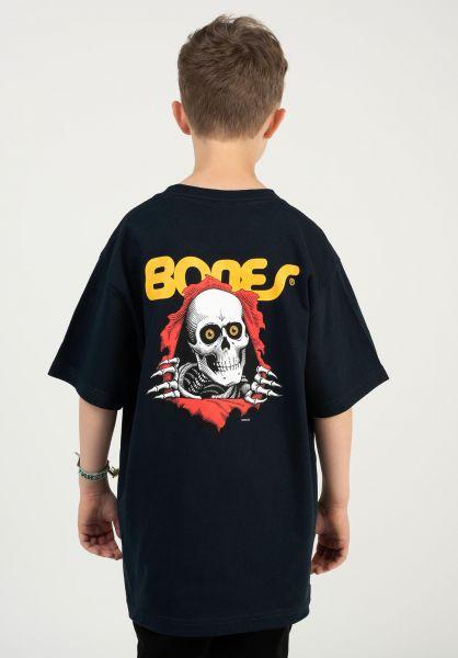 Powell-Peralta T-Shirts Ripper Kids navy vorderansicht 0375562