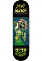 cruzade-skateboard-decks-dicky-medusa-double-tail-black-vorderansicht-0266041