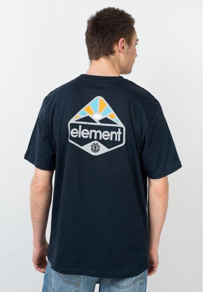 Element T-Shirts Coretta eclipsenavy vorderansicht 0631986