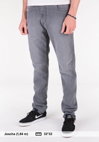 Element Jeans E03 Regular Tapered black-lightused Vorderansicht