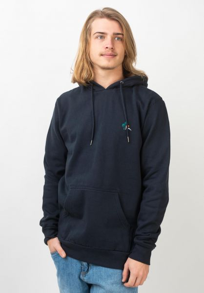 Billabong Hoodies Jungle navy vorderansicht 0445549