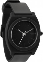 Nixon Uhren The-Time-Teller-P matte-black Vorderansicht