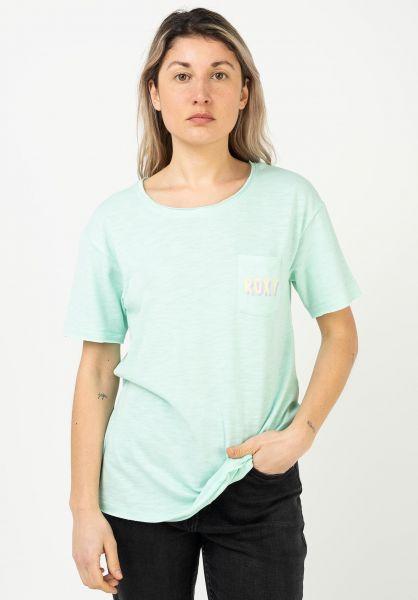 Roxy T-Shirts Star Solar B brookgreen vorderansicht 0322794
