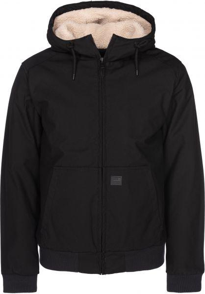 Vintage Industries Winterjacken Datton Jacket black vorderansicht 0122260