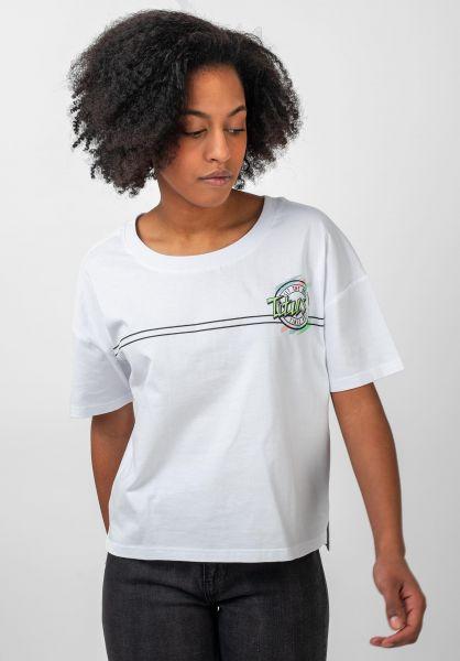 TITUS T-Shirts Mira white vorderansicht 0383193