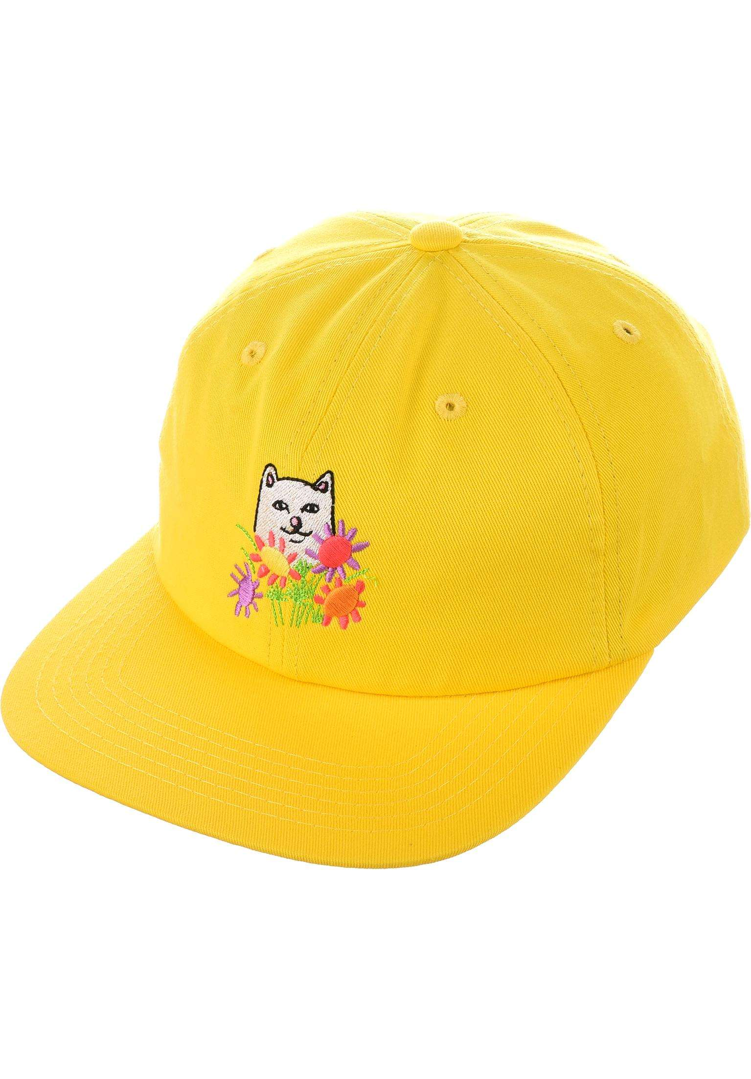 fadab36c9f9 Nermcasso Strapback Rip N Dip Caps in yellow for Men