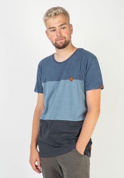 alife and kickin T-Shirts Ben marine 320 vorderansicht 0320763