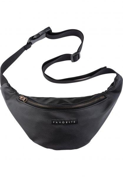 Favorite Hip-Bags Leather Bronze black vorderansicht 0169027
