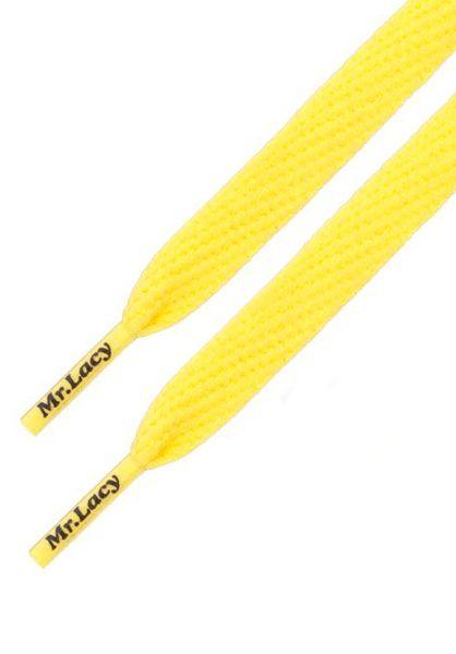 Mr. Lacy Schnürsenkel Flatties yellow vorderansicht 0640010