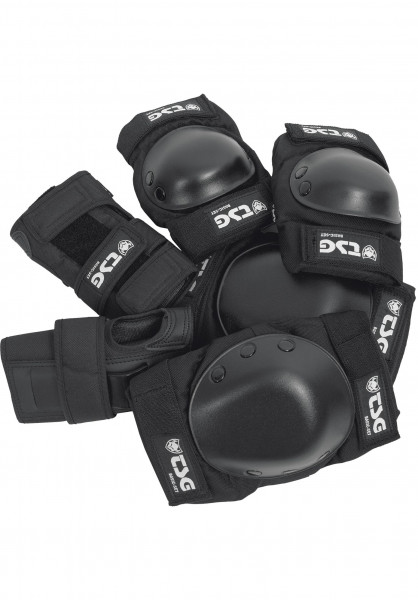 TSG Schoner-Sets Basic Protection Set black Vorderansicht