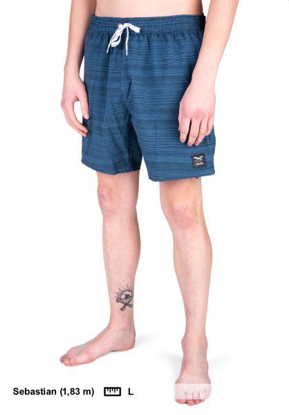 iriedaily Beachwear La Banda 2 darksteel vorderansicht 0205199
