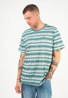 huf-t-shirts-daisy-stripe-sage-vorderansicht-0324007
